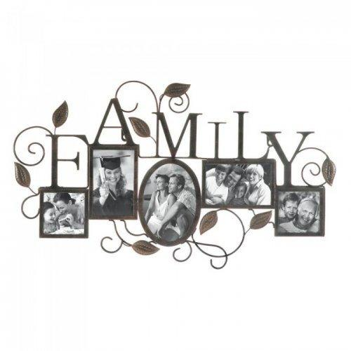 Family 5-photo Wall Frame (pack of 1 EA)