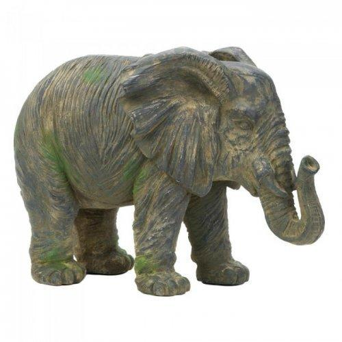 Weathered Elephant Statue (pack of 1 EA)