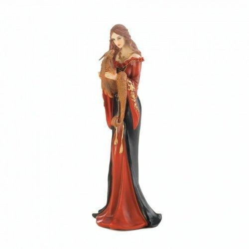 Orange Dragon Guardian Figurine (pack of 1 EA)