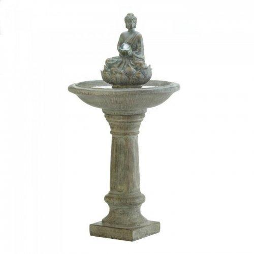 Buddha Pedestal Water Fountain (pack of 1 EA)