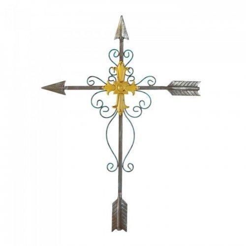 Crossed Arrow Wall Cross (pack of 1 EA)