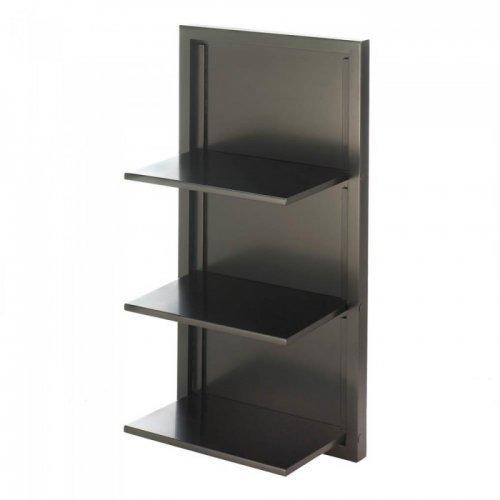 Black Folding Wall Shelf (pack of 1 EA)