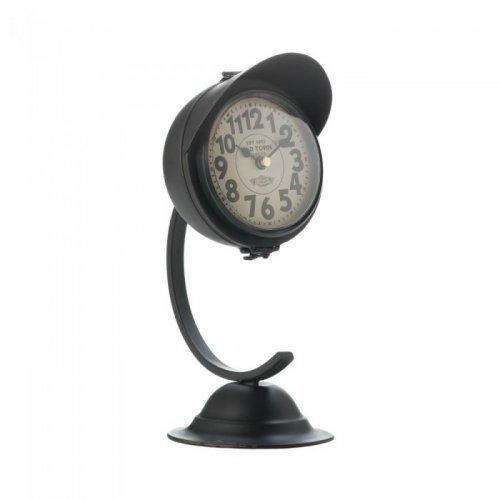 Vintage Black Standing Desk Clock (pack of 1 EA)