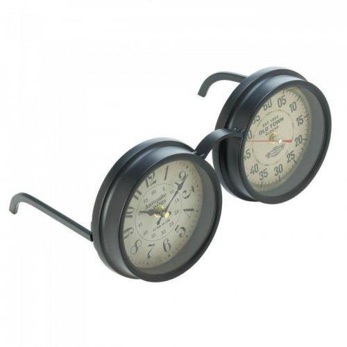 Vintage Spectacles Tabletop Clock (pack of 1 EA)