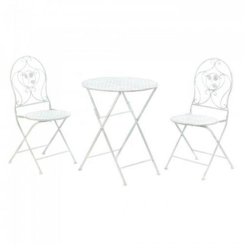 White Patio Bistro Trio (pack of 1 EA)
