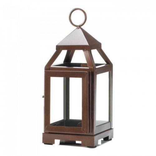 Copper Mini Contemporary Lantern (pack of 1 EA)