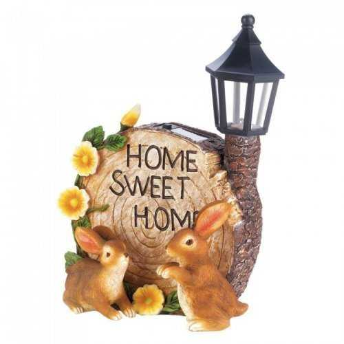 Solar Home Sweet Home Bunnies (pack of 1 EA)