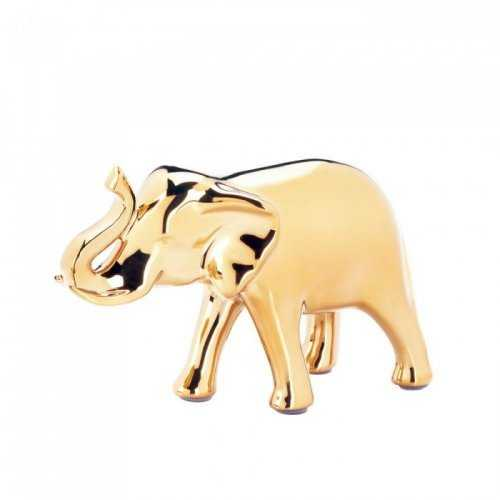 Small Golden Elephant Figure (pack of 1 EA)