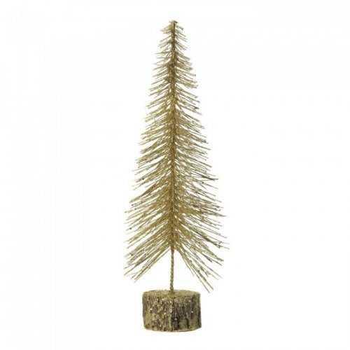 Medium Gold Glitter Tree (pack of 1 EA)