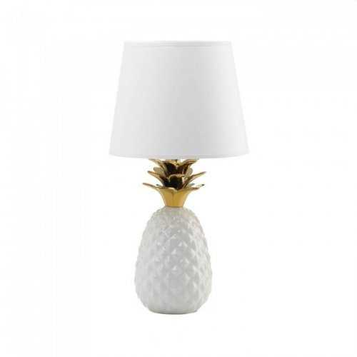 Gold Topped Pineapple Lamp (pack of 1 EA)