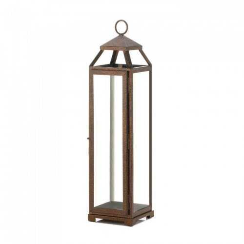 Extra Tall Copper Lantern (pack of 1 EA)