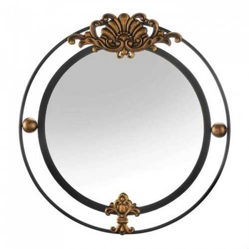 Regal Wall Mirror With Gold Accent (pack of 1 EA)