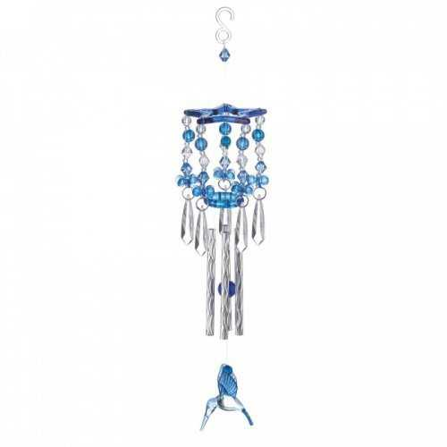 Blue Hummingbird Wind Chimes (pack of 1 EA)