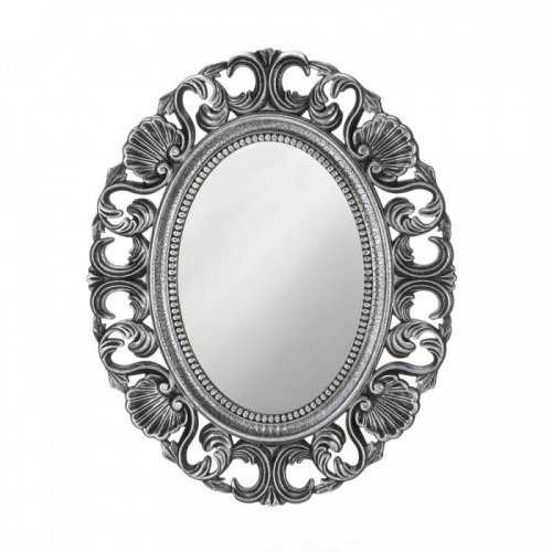 Silver Scallop Wall Mirror (pack of 1 EA)