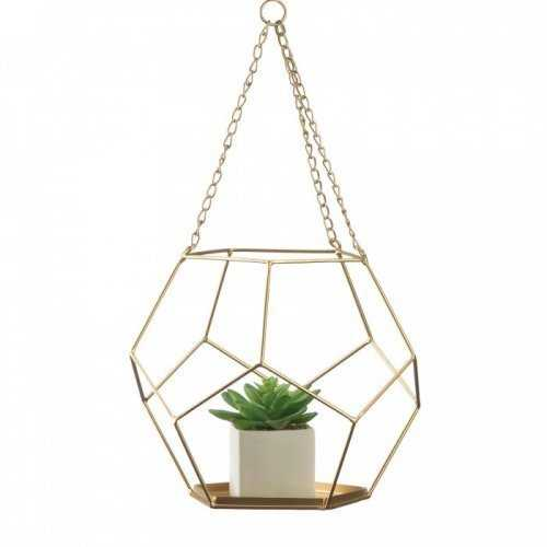 Hanging Geometric Plant Holder (pack of 1 EA)
