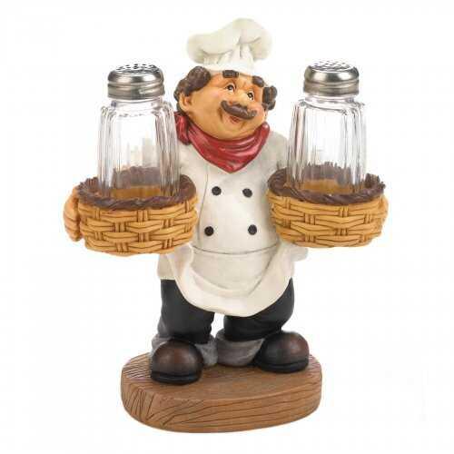 Chef Holder S&p Shakers Set