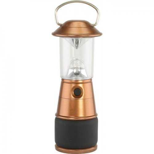 Micro-led Table Lanterns Copper Look (pack of 1 EA)