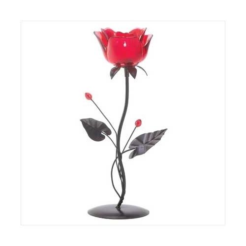 Romantic Rose Votive Holder (pack of 1 EA)