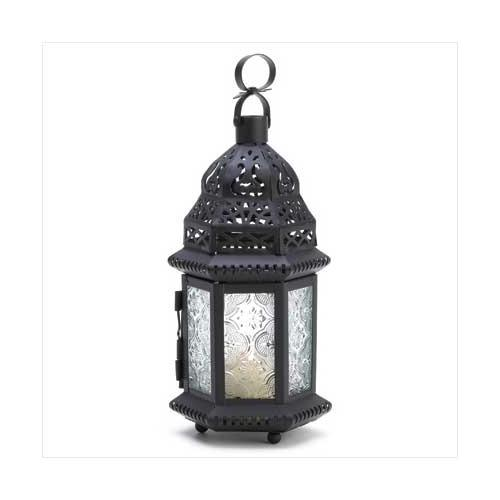 Winter Fire Candle Lantern (pack of 1 EA)