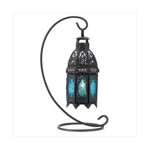 Sapphire Night Hanging Lantern (pack of 1 EA)