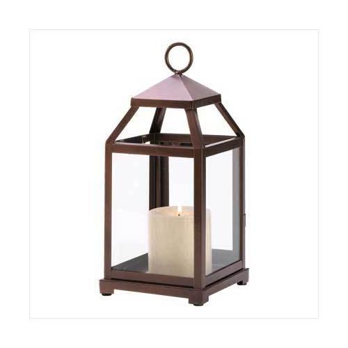 Bronze Contemporary Lantern (pack of 1 EA)