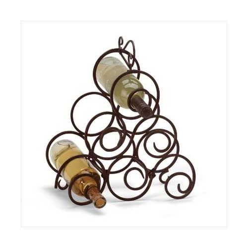 Scrollwork Wine Rack (pack of 1 EA)