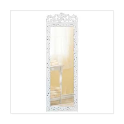 Elegant White Wall Mirror (pack of 1 EA)