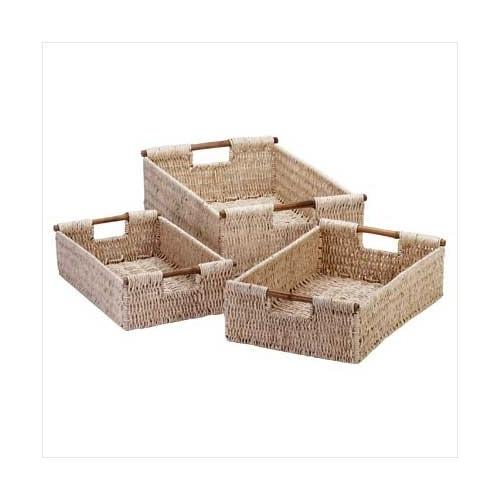 Corn Husk Nesting Baskets (pack of 1 SET)