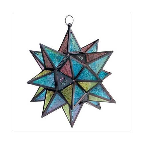 Moroccan-style Star Lantern (pack of 1 EA)