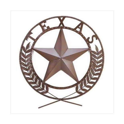 Texas Star Wall Plaque (pack of 1 EA)