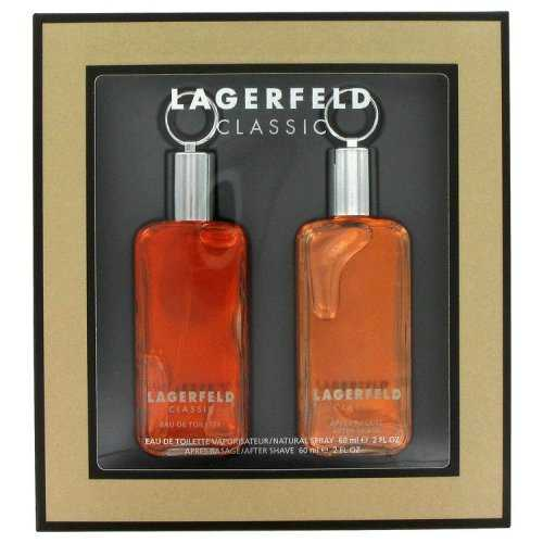 Lagerfeld By Karl Lagerfeld Gift Set 2 Oz Eau De Toilette Spray + 2 Oz After Shave (pack of 1 Ea)