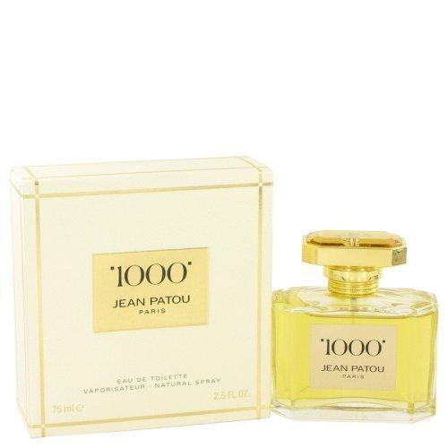 1000 By Jean Patou Eau De Toilette Spray 2.5 Oz (pack of 1 Ea)