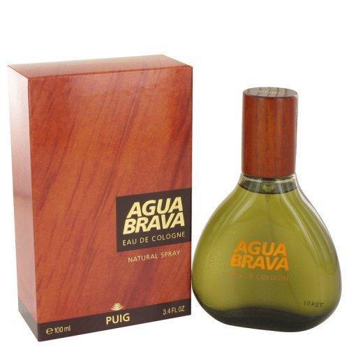 Agua Brava By Antonio Puig Eau De Cologne Spray 3.4 Oz (pack of 1 Ea)