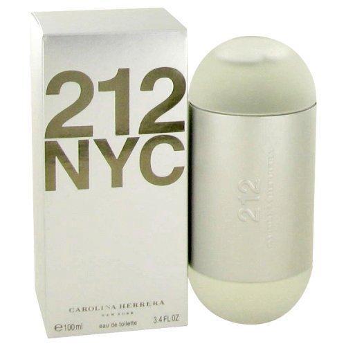 212 By Carolina Herrera Eau De Toilette Spray (new Packaging) 3.4 Oz (pack of 1 Ea)