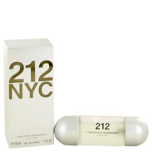 212 By Carolina Herrera Eau De Toilette Spray (new Packaging) 1 Oz (pack of 1 Ea)