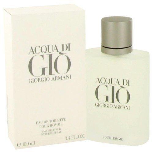 Acqua Di Gio By Giorgio Armani Eau De Toilette Spray 3.3 Oz (pack of 1 Ea)