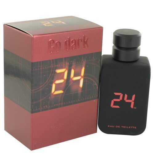 24 Go Dark The Fragrance By Scentstory Eau De Toilette Spray 3.4 Oz (pack of 1 Ea)