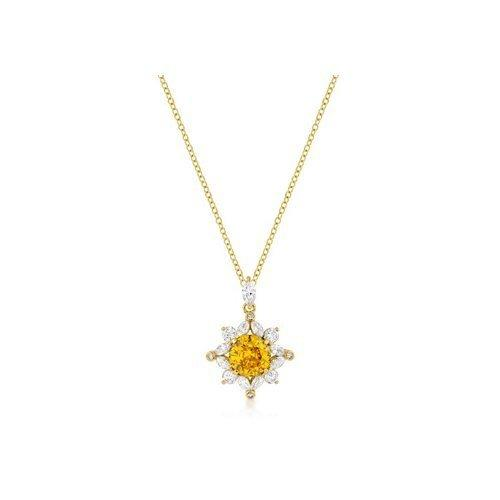Classic Sun Pendant In Goldtone (pack of 1 ea)