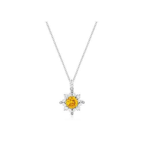 Classic Sun Pendant In Silvertone (pack of 1 ea)