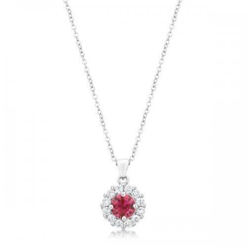 Bella Bridal Pendant In Pink (pack of 1 ea)