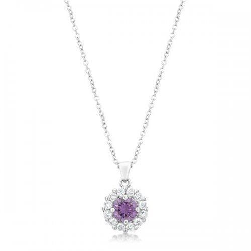 Bella Bridal Pendant In Purple (pack of 1 ea)