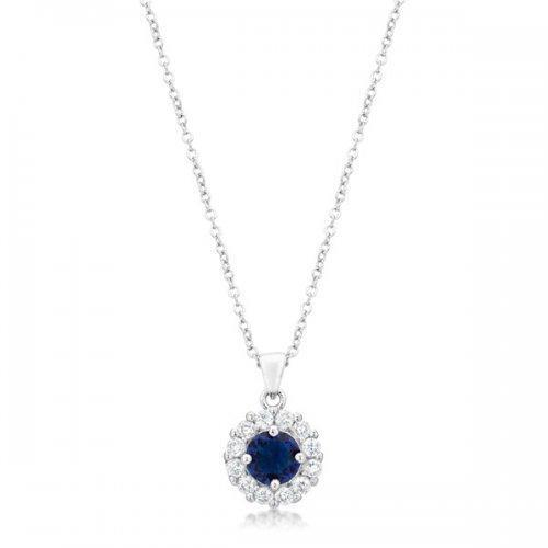 Bella Bridal Pendant In Blue (pack of 1 ea)