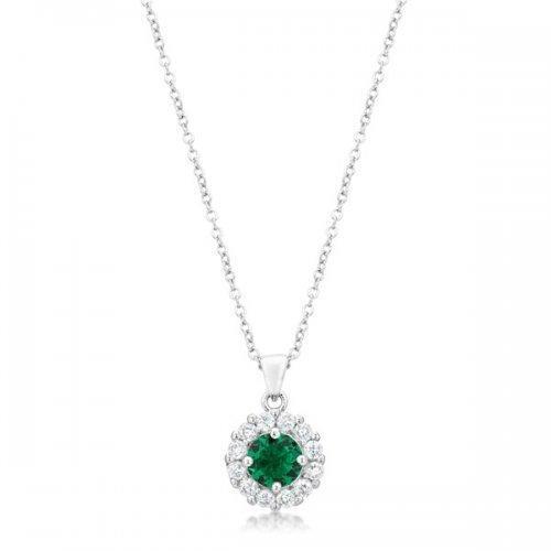 Bella Bridal Pendant In Green (pack of 1 ea)