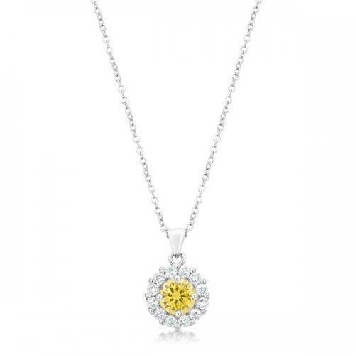 Bella Bridal Pendant In Yellow (pack of 1 ea)