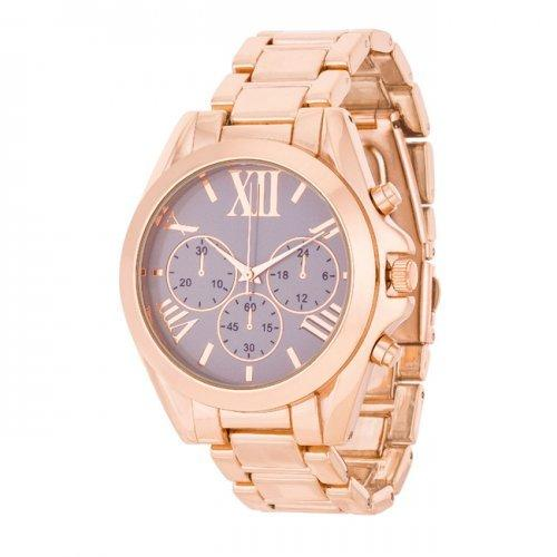 Roman Numeral Rose Gold Watch (pack of 1 ea)