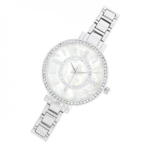 Classic Metal Watch With Crystals (pack of 1 ea)