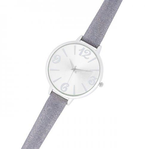 Fashion Watch With Leather Band (pack of 1 ea)