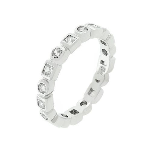 Hollywood Eternity Band Ring (size: 06) (pack of 1 EA)