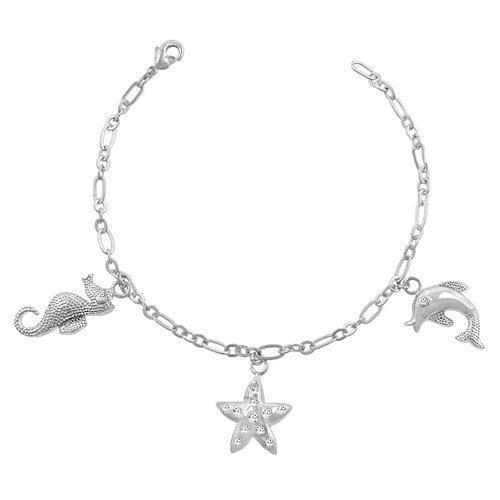 Seashore Charm Bracelet (pack of 1 ea)