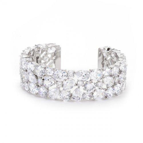 Bejeweled Cz Cuff (pack of 1 ea)